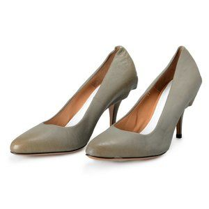 Maison Margiela 22 Gray Leather High Heels Pumps